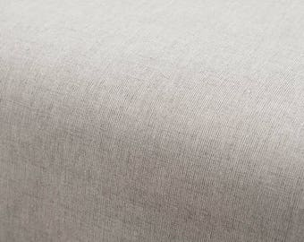 Fitted Sheet - Linen/Cotton blend - light Gray - made in Europe