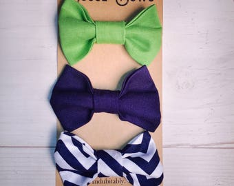 Baby bow tie, Chevron bow tie, Baby boy gift, clip on bow tie, kids bow tie, toddler bow tie, bow tie onesie, newborn bow tie