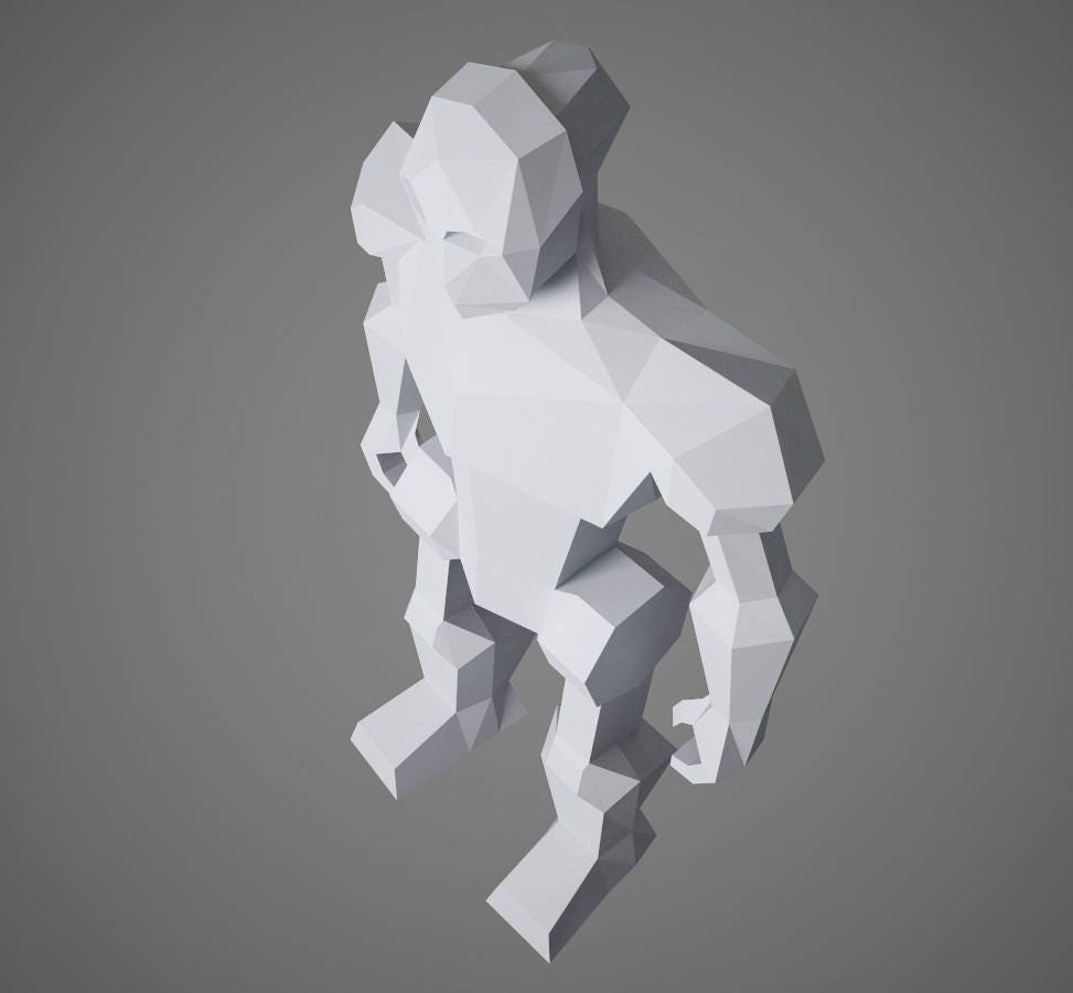 Papercraft robot 3d paper craft diy paper sculpture paper model this is a digital file solutioingenieria Choice Image