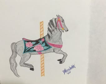 Untitled Carousel Horse