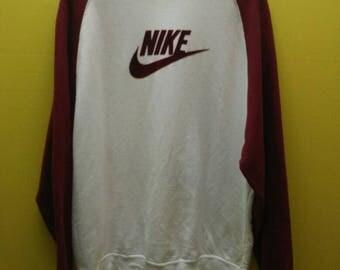 Vintage Nike Swoosh Big Logo Sweatshirt Rare