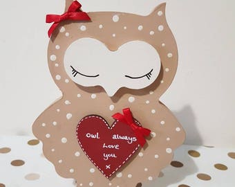 Owl Always love you Valentine gifts for her Valentines day Gift Ideas Valentine Gifts Owl Gifts I Love you Quotes i Love you Quotes for him