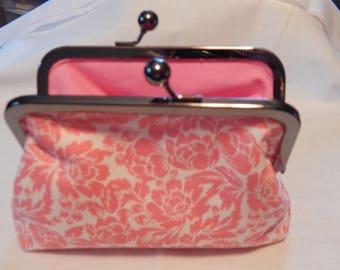 Pink Flower Wallet