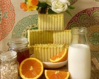 Citrus Orange Oatmeal