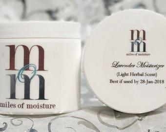 Lavender Moisturizer | All Natural Body Lotion, Moisturizing Lotion