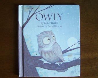 Owly by Mike Thaler- Children's Book - Weekly Reader Children's Book Club