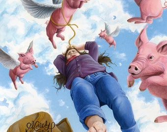 When Pigs Fly Print