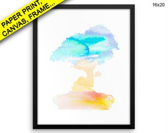 Watercolor Prints Watercolor Canvas Wall Art Watercolor Framed Watercolor Wall Art Canvas Watercolor Home Art Watercolor Home Canvas Print
