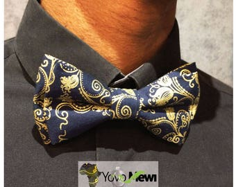 Papillonen 33 wax fabric bow