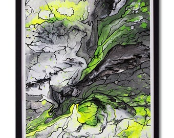 A2 Limited Edition Art Print (Unframed): Lahar