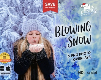 5 Blowing Snow Funny Photo Overlays, Photography overlays, Overlays photoshop, Snow flurries, Snow photo effect, Snow clip art, Snow effect