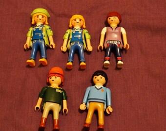 Vintage Playmobil Figurines