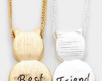 2 necklace best friend