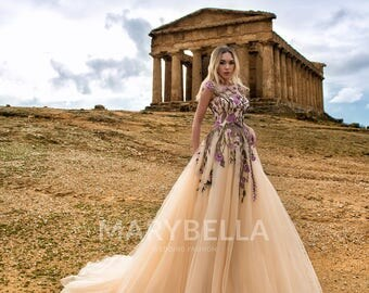 Sicily- Evening dress E-002