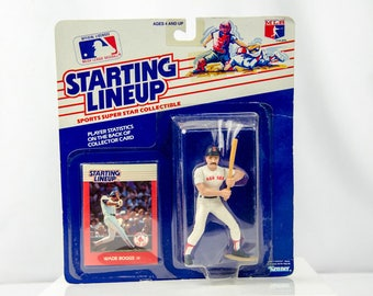Starting Lineup 1988 Wade Boggs Action Figure Boston Red Sox