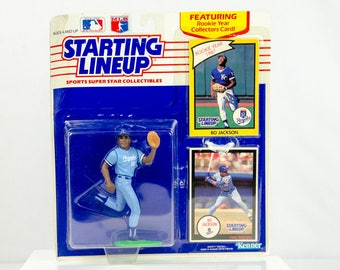 Starting Lineup 1990 Bo Jackson Action Figure Kansas City Royal's MLB