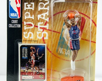 NBA Super Stars Court Collection Charles Barkley Action Figure Houston Rockets