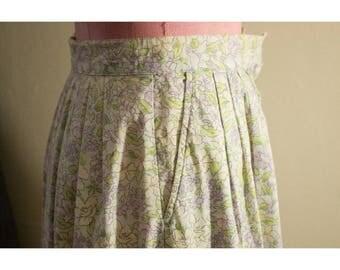 Early 1990s Eddie Bauer cotton skirt