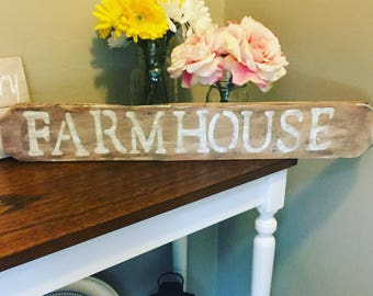 Handmade Farmhouse sign