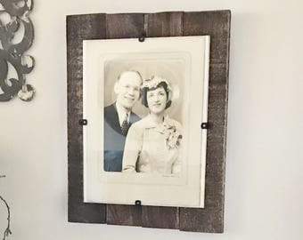11x14 Custom Color Pallet Frame, Upcycled