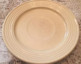 Bauer Yellow Salad Plate