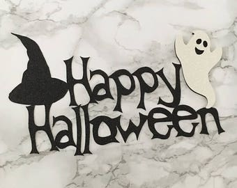Ghost Halloween Cake Topper