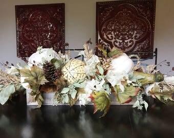 Fall Centerpiece   Thanksgiving Centerpiece   Floral Arrangement   Fall Floral Arrangement   Table Arrangement   Fall Table Arrangement