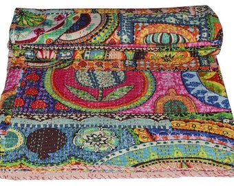 Kantha | Etsy : how to kantha quilt - Adamdwight.com