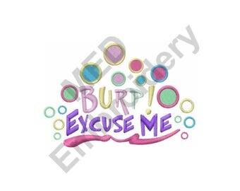 Burp Bubbles - Machine Embroidery Design