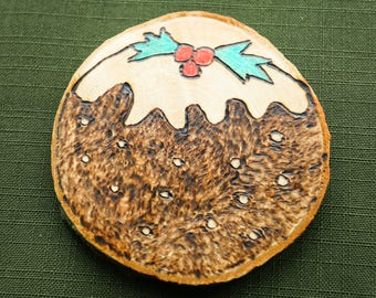 Christmas tree decoration - Christmas pudding
