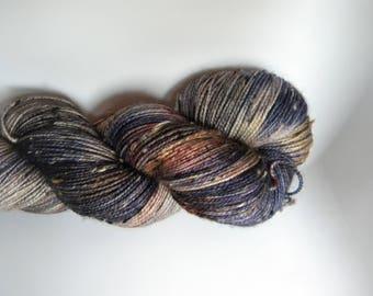 You Fancy Me Mad BFL Tweed Sock Yarn