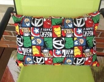 Marvel The Avengers Slip Cover Pillow Included