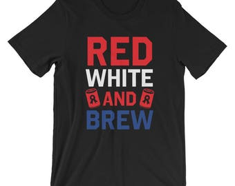 Red, White, and Brew T-Shirt