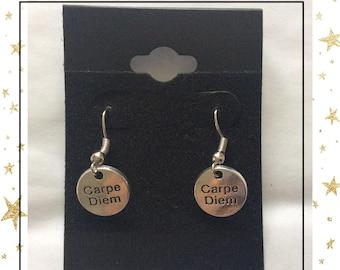 Carpe Diem earrings