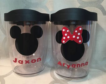 Minnie Mouse & Mickey Mouse Tumbler