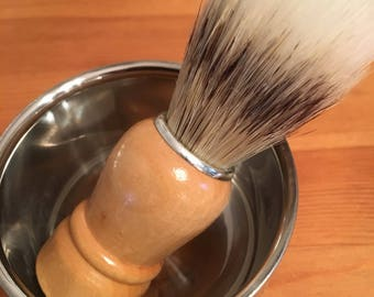 Shaving brushes and cups