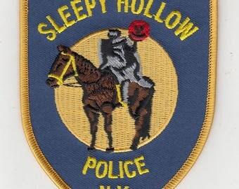 "New York Sleepy Hollow Police Dept Headless Horseman Patch (4"")"