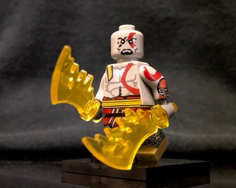 Kratos God Of War Custom Minifigure