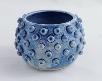 Blue Kernel Vase