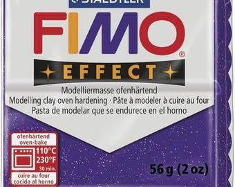 Clay Fimo 57 g lilac 8020.602 - polymer clay glitter Effect