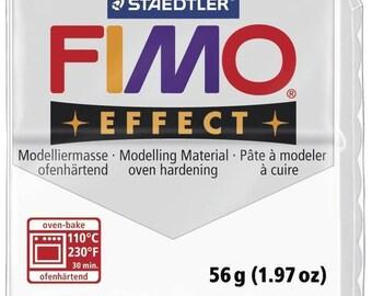 Pâte Fimo 57 g Effect Translucide Blanc 8020.014 - Fimo