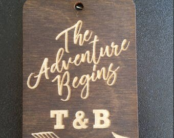 Laser Engraved Wood Tags