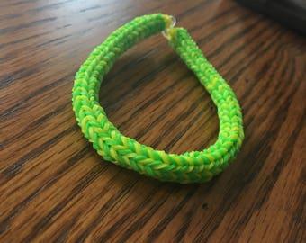 Oregon Ducks inspired bracelet