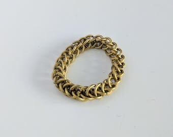 Chainmail Ring Half-Persian 3-in-1