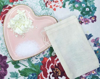 FLOWER BOUQUET Tub Tea - bath soak // all natural // destress and relax
