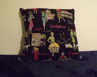 Retro style, Vintage look Cushion Cover