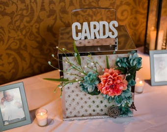Custom Wedding Card & Money Box