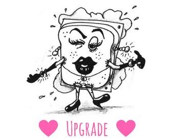 Upgrade ~ worth 3 euros ~