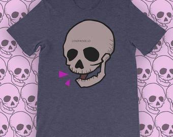 T Shirt Skull #1 - Zeropatollo Indie design