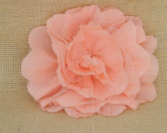 5 fabric flowers for bridal dress / hair accessory **HKD10 for all**